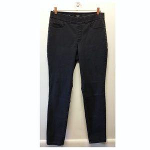 Nine West | Black Pull-On Skinny Jeans Hi-Rise EUC